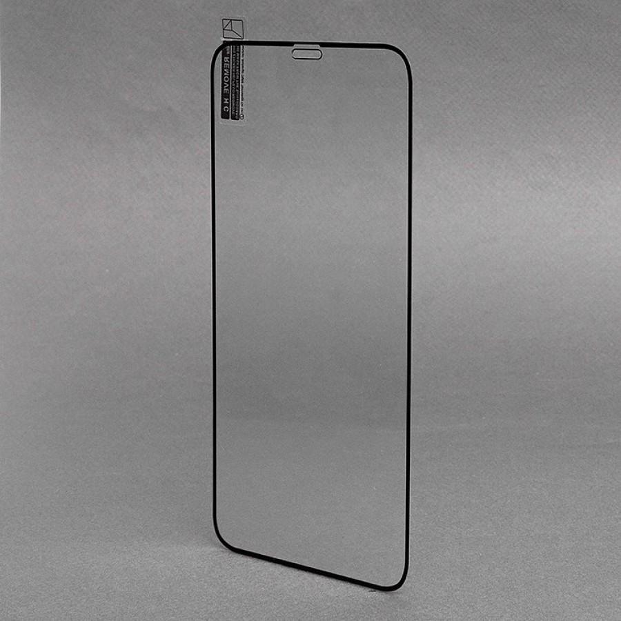 Защитное стекло Full Screen RockBox 2,5D Apple iPhone XR (black)