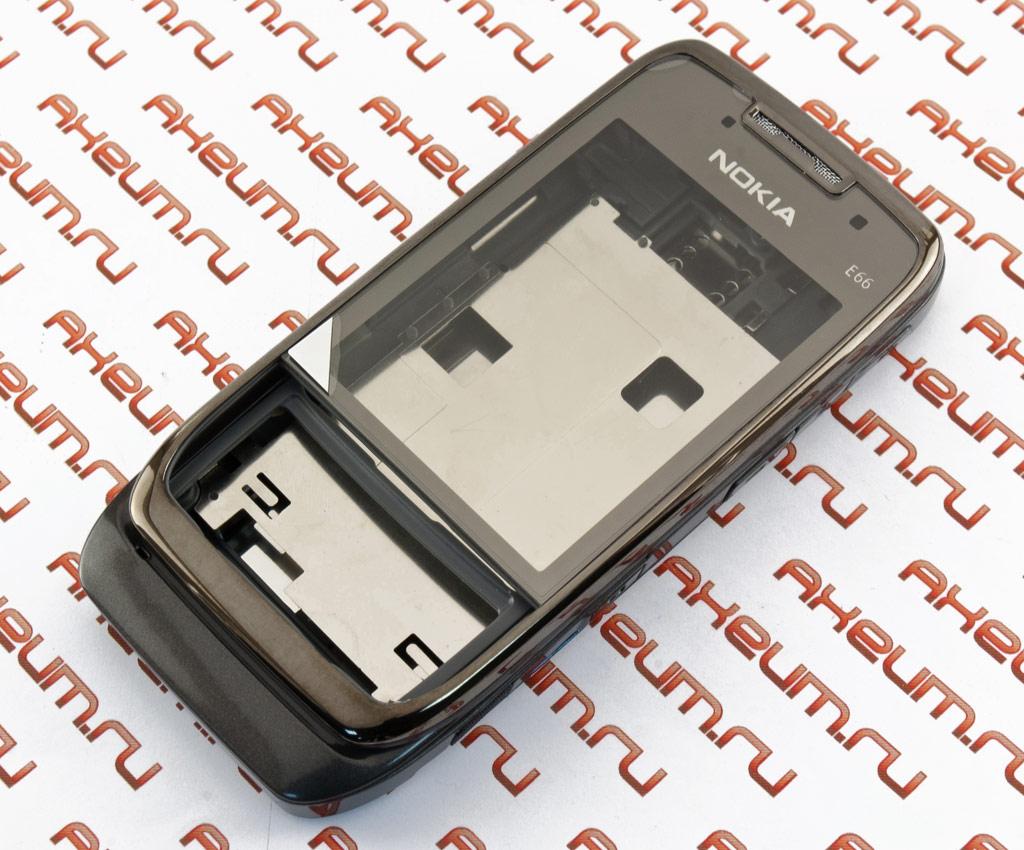 Корпус Nokia E66 grey (серый) от 290 рублей - купить в Екатеринбурге ... 3fa4c702a65d6